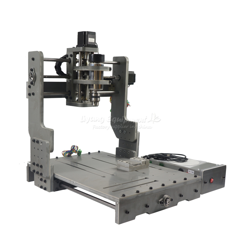 China factory supply best cnc machine 3040 3axis pcb engraving wood router 300w Parallel port cnc engraving machine 2030 parallel port 4axis wood mini lathe for universal work