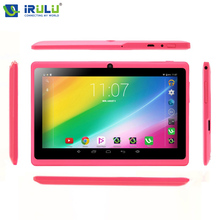 "Irulu expro x1 7 ""Tablet PC Allwinner A33 Android4.4 Tablet PC 1024*600 HD Quad Core 16 GB ROM Wifi Tableta Nueva Caliente"