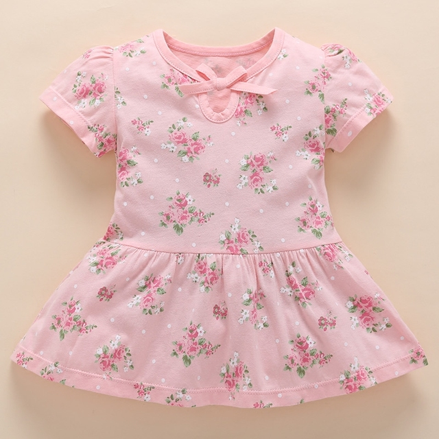 7592f8d854f 2018 Vestido Infantil Sale Special Offer Baby Dress 0 Girls Summer Newborn  3 Months 6 Cotton Clothes 12 1 Year Old Female Short