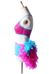 Image 4 - Платье для латинских танцев, костюм для женщин и девочек