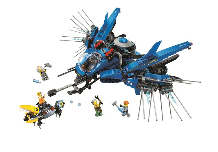 BELA Ninjagoed Lightning Jet Building Blocks Sets Bricks Ninja Movie Classic Model Kids Toys Marvel Compatible Legoe lepin building blocks sets city explorers jungle halftrack mission bricks classic model kids toys marvel compatible legoe