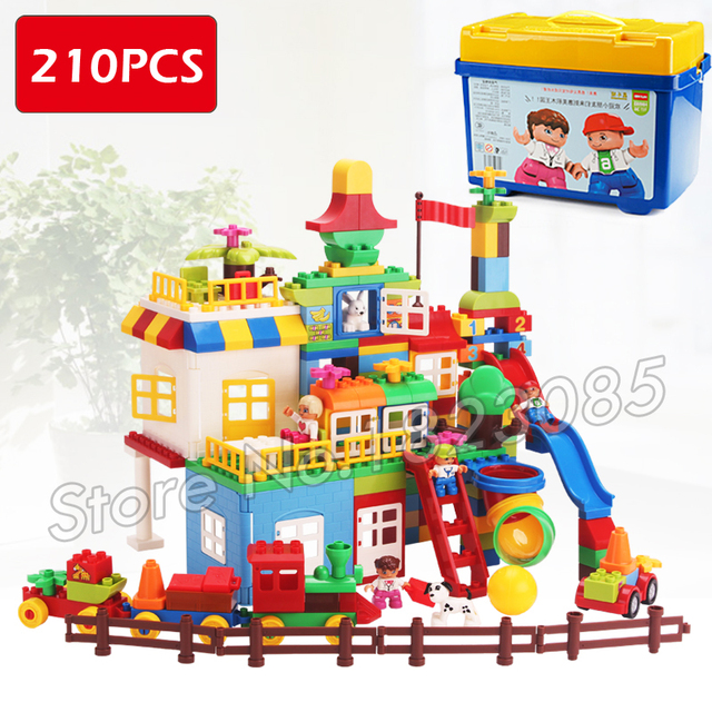 210pcs My First Castle Amusement Park Construction Model Big Size