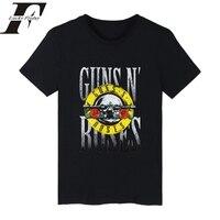 2017 LUCKYFRIDAYF GUNS N ROSES Punk Summer Cotton Fitness T Shirt Men Women T Shirt Rock