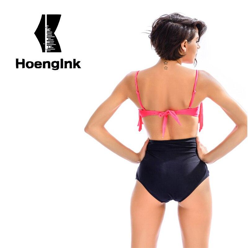 BRANDMAN New Pink Tassel Swimsuit High Waist Swim Trunks Design Swimming Pool Swimwear, Selection of High Quality Fabric