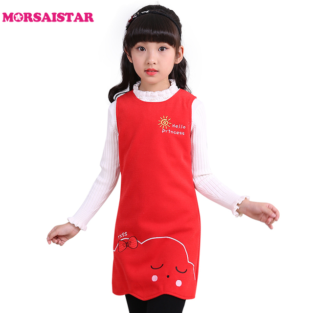 school girls red party evening dresses halloween costume for kids robe fille vestido de verao disfraz