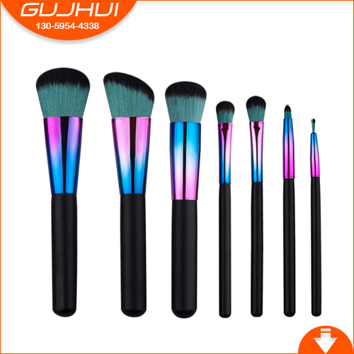 7 Makeup Brush Sets, Beauty Equipment, Make-up Tools, Brush Powder, GUJHUI Rhyme 12 unicorn makeup brush sets beauty tools make up powder brush sets brush gujhui