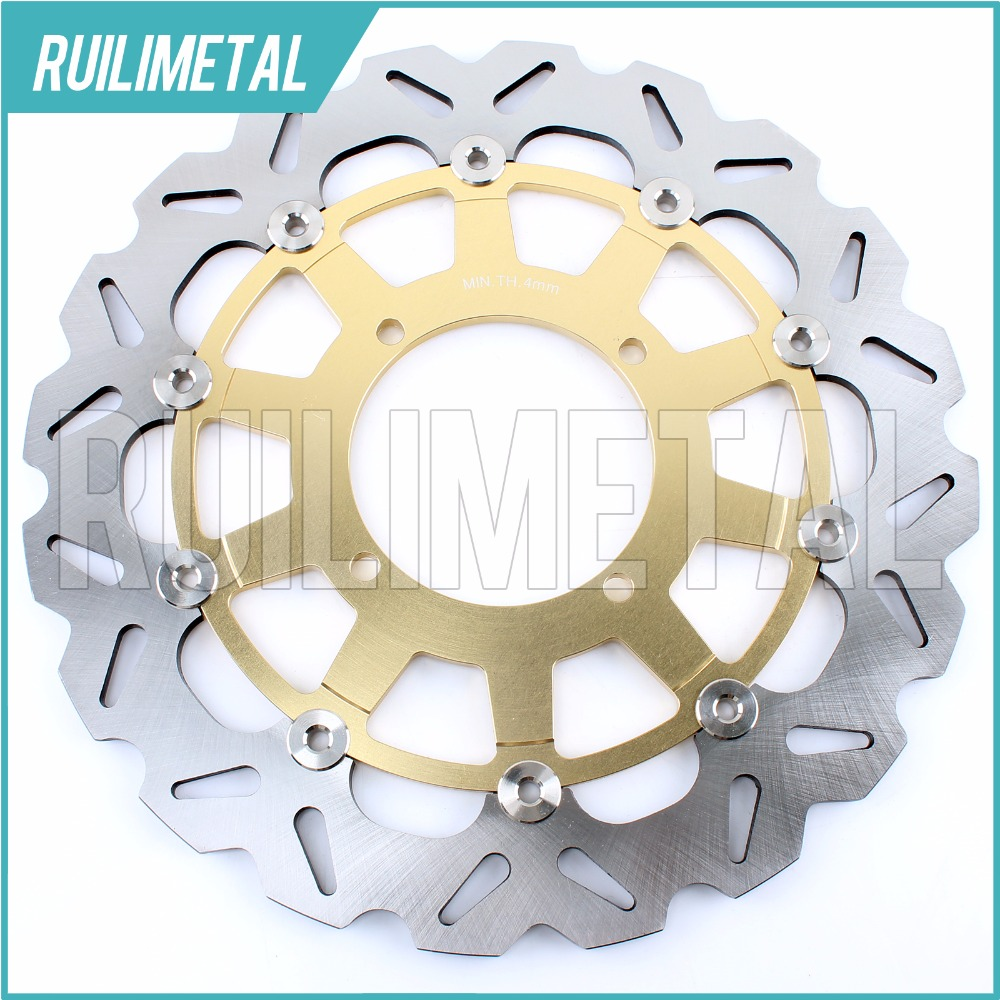 320mm oversize Front Brake Disc Rotor for KAWASAKI KX KLX 125 250 F 300 500 650 93 94 95 96 97 98 99 00 01 02 03 94 95 96 97 98 99 00 01 02 03 04 05 06 new 300mm front 280mm rear brake discs disks rotor fit for kawasaki gtr 1000 zg1000