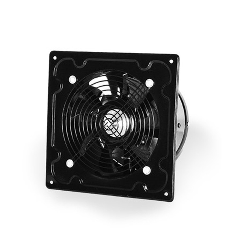 220V 60W exhaust fan industrial exhaust fan kitchen hood powerful all metal exhaust fan blower Ventilation fan 8 inch