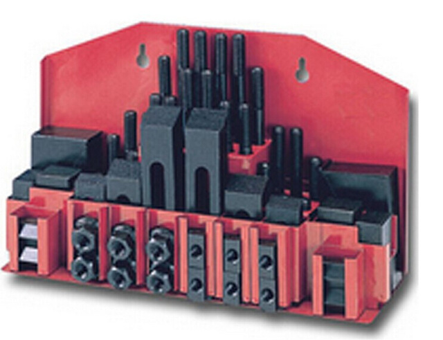 Metex Milling Machine Clamping Set - M12 58pcs Mill Clamp Kit Vice цена и фото