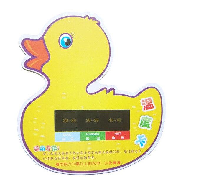Premiers pas canard bébé baignoire bain température de l'eau de bain chambre thermomètre moniteur testeur jouets jauge de sécurité mignon animaux
