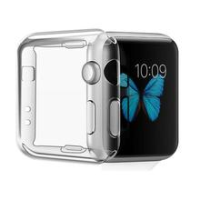 Case for Apple smart Watch Ultra thin Transparent TPU Watch Shell Protective Case Cover For Apple