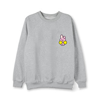 New Kpop BTS Bangtan Boys Fans Club Bt21 Same Q Blouse Hoody Cool Sweatshirt Harajuku Style