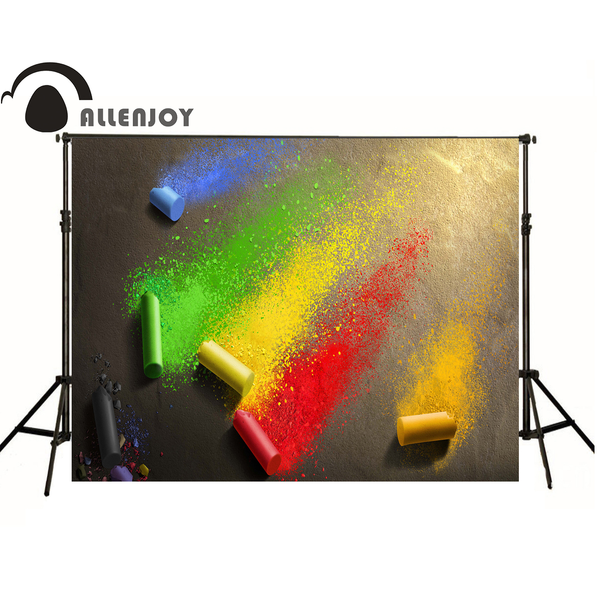Color booth online - Allenjoy Photography Backdrops Color Red Graffiti Art Photo Baby Background Photo Booth China Mainland