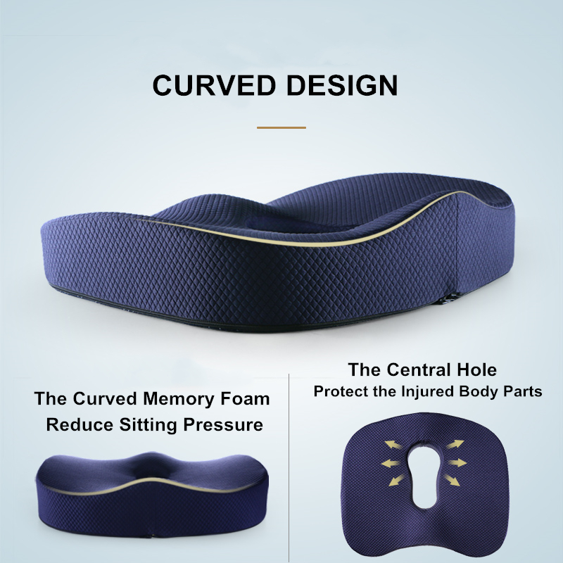 Comfort Coccyx Orthopaedic Seat Cushion-High Quality