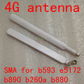 Original 4g lte Huawei antenna sma for 4G 3g wifi router External Antenna for B593 B890 B880 e5172 e5186 b970b Antenna for cpe