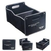 Car Accessories Black Trunk box Car Styling logo Container Bags Box For Mini Cooper R55 R57 R58 R59 R60 Clubman Countryman F54