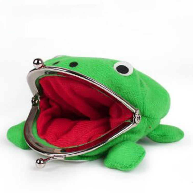 Pokemon Bolsa Naruto Frog Depozit de bani Anime Monedă pungă Pokemon Plush Storage Bag Creative The New Hot