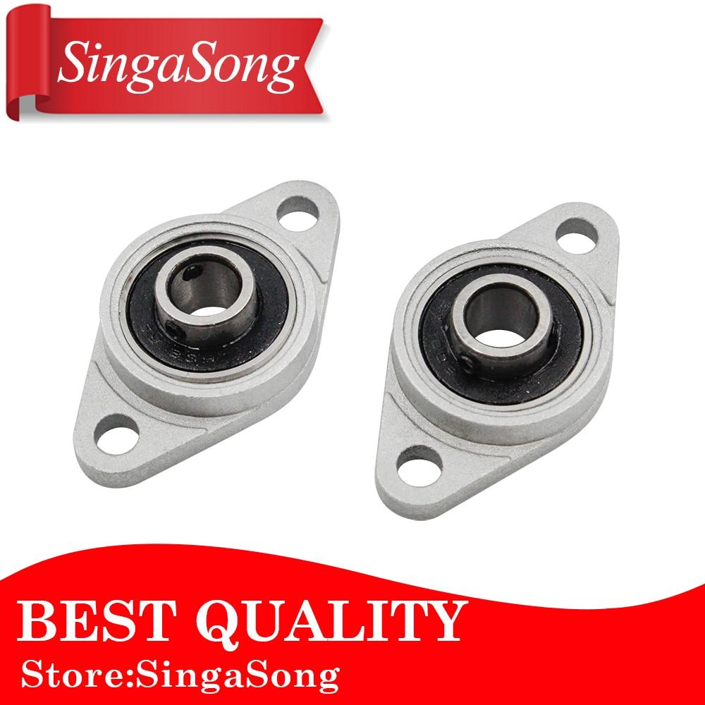 2PCS/LOT. NEW 8mm diameter zinc alloy bearing housing KFL08 FL08 K08 flange bearing with pillow block bearing 8mm inner diameter zinc alloy pillow block flange bearing kfl08
