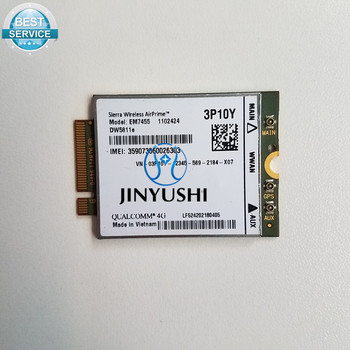 JINYUSHI For EM7455  DW5811E PN 3P10Y  Dell  version Sierra Wireless FDD/TDD LTE CAT6 for  E7270 E7470 E7370 E5570 E5470