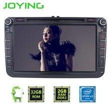 """Joying 8 """"2 Din Android 6.0 Voiture Radio Audio GPS Navigation Pour Volkswagen VW Passat Polo Golf 5 6 Tête unité de Bande Enregistreur Lecteur"""