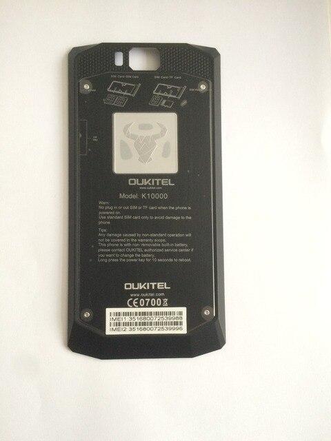 Оригинал Б Крышка Батарейного Отсека Назад Shell Для Oukitel K10000 5.5 inch MT6735 Quad Core HD 1280x720 Бесплатная Доставка + Номер для отслеживания
