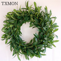 Simulation flower small olive wreath Door ornament Hotel Holiday Decorations Foam Olive Fruit Wedding Photography