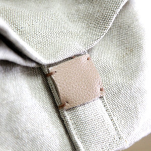 Image 2 - Linen Satchel Bag 2020 Casual Fabric Soft Shoulder Bag Lady Leisure Daily Slouch Bag Preppy Style School Crossbody Bag for Women
