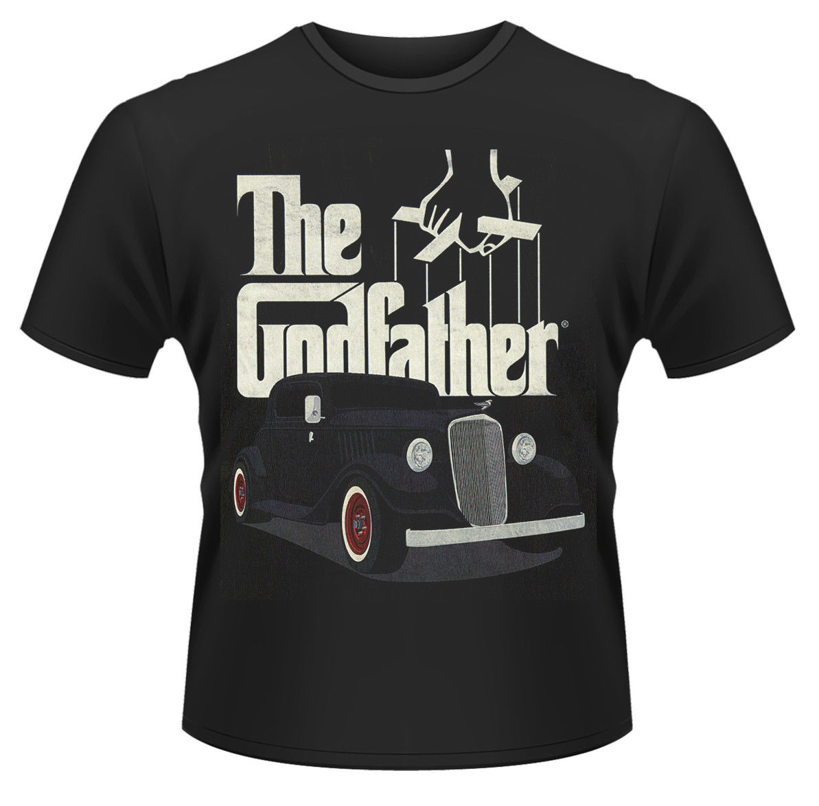 The Godfather Car T-SHIRT - Nuevo y Oficial Short Sleeves New Fashion T-Shirt Men Clothing Print Tee Shirts
