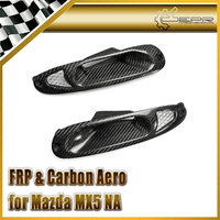 Car Styling For Mazda MX5 NA 1989 1997 Carbon Fiber Front Turn Singal Indicator Air Intake