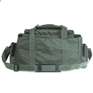 Image 3 - Large Capacity Multifunctional Fishing Bag Nylon Cloth Shoulder Messenger Reservoir Fishing Tackle Reel Lure Camera Storage Bag