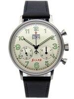 Чайка механическое движение Хронограф Мужские наручные часы со сменными камнями Bling CZ пилот официальщине информацию о недостающем 304 St19 1963
