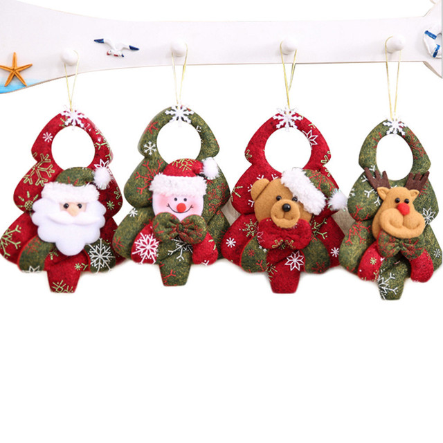 Navidad Santa Claus Pendant Christmas Ornaments Festival Party Home Decor Christmas Decor Supplies Novelty Gifts For Children 1
