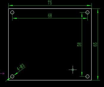 10 MHz OCXO טמפרטורה קבועה קריסטל תדר התייחסות, התייחסות לוח