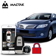MACTAK Corolla 2011 car accessories Keyless Entry Comfort System PKE Phone APP Remote Start Car Engine Alarm Push  963