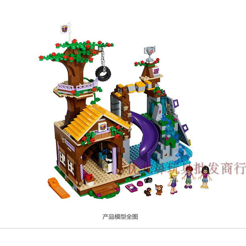 Pogo Lepin BL10497 Girls Friends Building Blocks Bricks Toys Compatible Legoe lepin 75821 pogo bela 10505 birds piggy cars escape models building blocks bricks compatible legoe toys