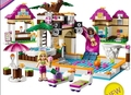 Bela 10160 Friends Heartlake City Pool Blocks Bricks Toy Girl Game House Gift Compatible with Decool Leping Sluban  41008