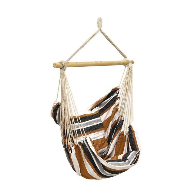 Striped Hanging Chair Mawgie
