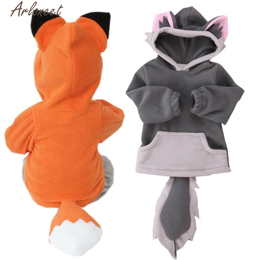 Mother & Kids Apprehensive Arloneet Child Cartoon Baby Girl Clothes Fox Baby Boy Girl Jacket Outwear Coats Baby Boy Clothes Winter 2017 P30 Dec13 Clearance Price