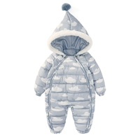 winter Cotton Clothes Children jacket Baby clothing snowsuit girl boy infant snow Winter jumpsuit coat Thickening Warm casual