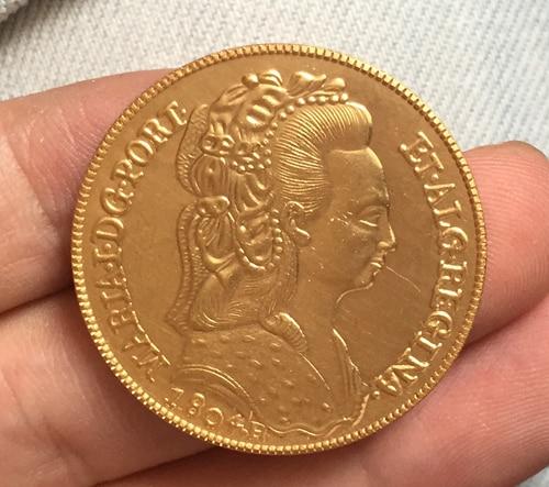1804 Бразилия 6400 Reis Монеты Скопируйте Бесплатная доставка 32 мм ...