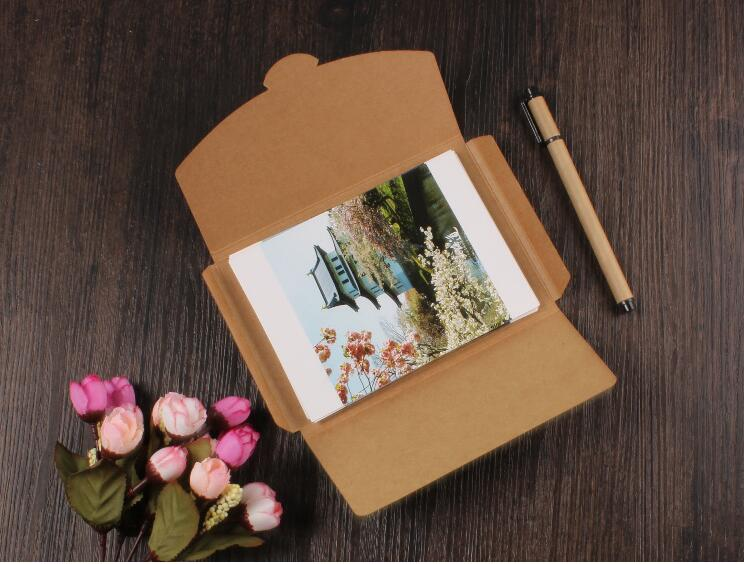 200pcs vintage kraft paper box envelope for invitation card letter 200pcs vintage kraft paper box envelope for invitation card letter packaging gift greeting card postcard photo paper box in gift bags wrapping supplies m4hsunfo