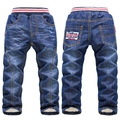 DKZ172 Free shipping baby boy and girl KK Rabbit 2016 new thick winter warm  roupas infantis menina baby jeans retail