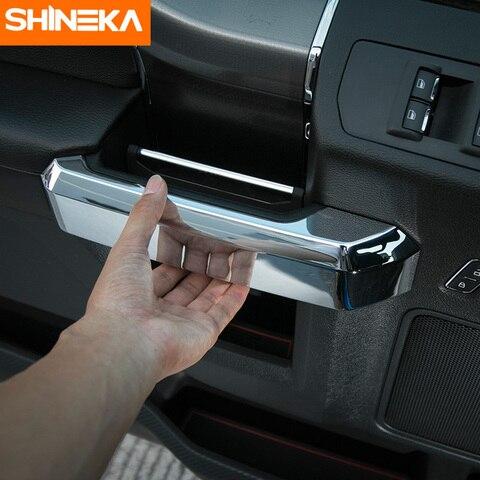 shineka estilo do carro abs interior macaneta