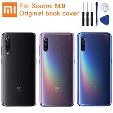 XiaoMi Cubierta trasera de batería de repuesto, Original, cristal para puerta de Xiaomi 9 MI9 M9 MI 9, carcasa trasera, funda protectora de teléfono