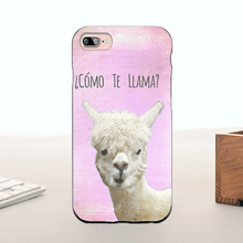 MaiYaCa COMO TE LAMA cute animals 2016 New Luxury fashion cell phone case For iPhone 7 plus case(China)