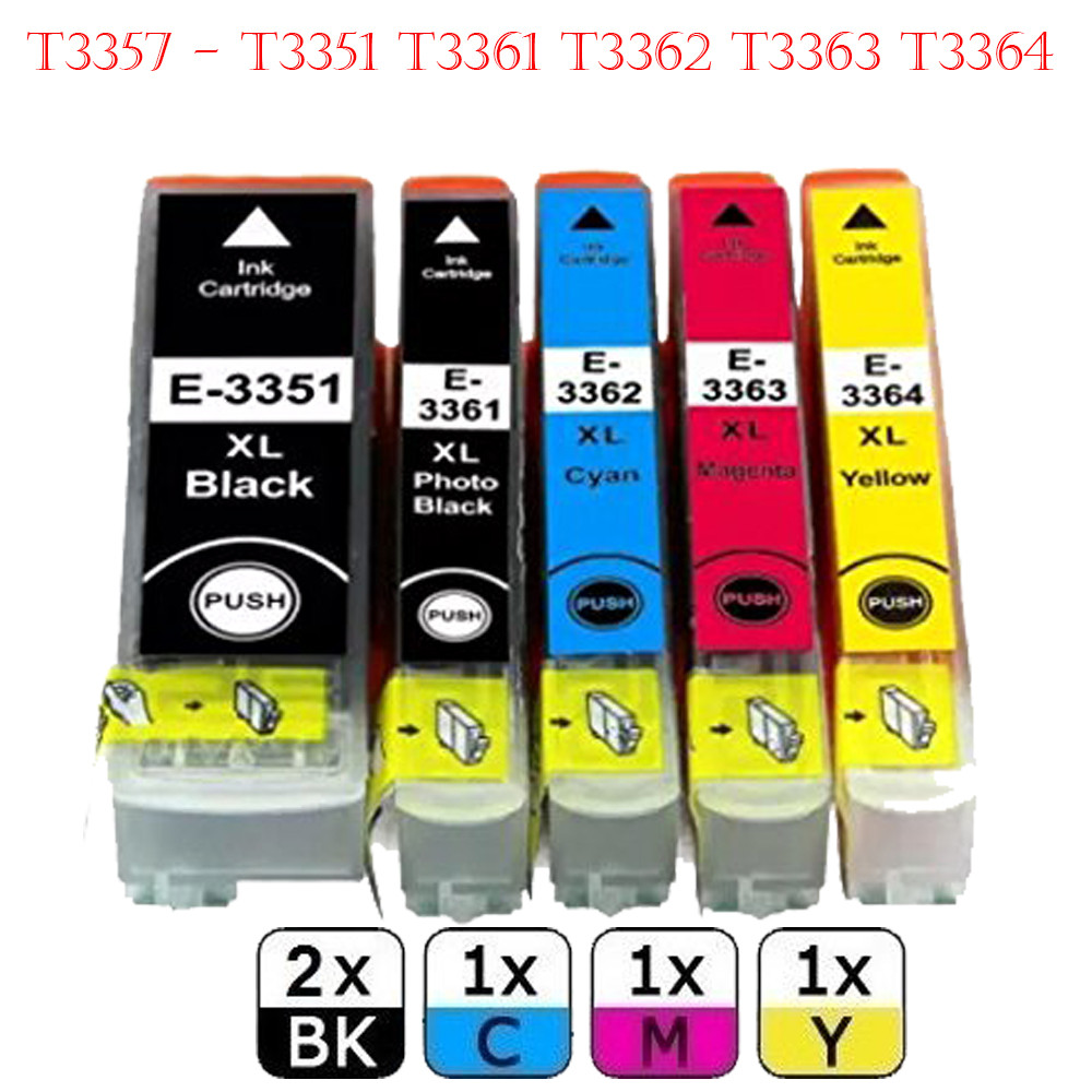 Sale t3357 t33xl ink cartridges for epson expression xp for Ink sale