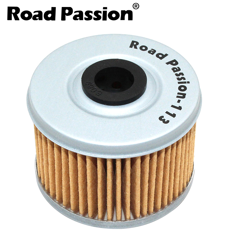 Road Passion 113 Motorcycle Oil Filter Grid For HONDA VT125C SHADOW 121 XL125V VARADERO DE LUXE 125 VT125 VT C XL XL125 V image