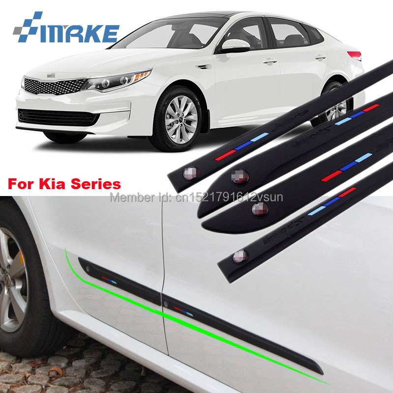 smRKE High-quality Rubber Car Body Anti Scratch Protector Bumper For Kia K3 K5 KX3 Soul Forte Sportage Carens Rio Sorento Series
