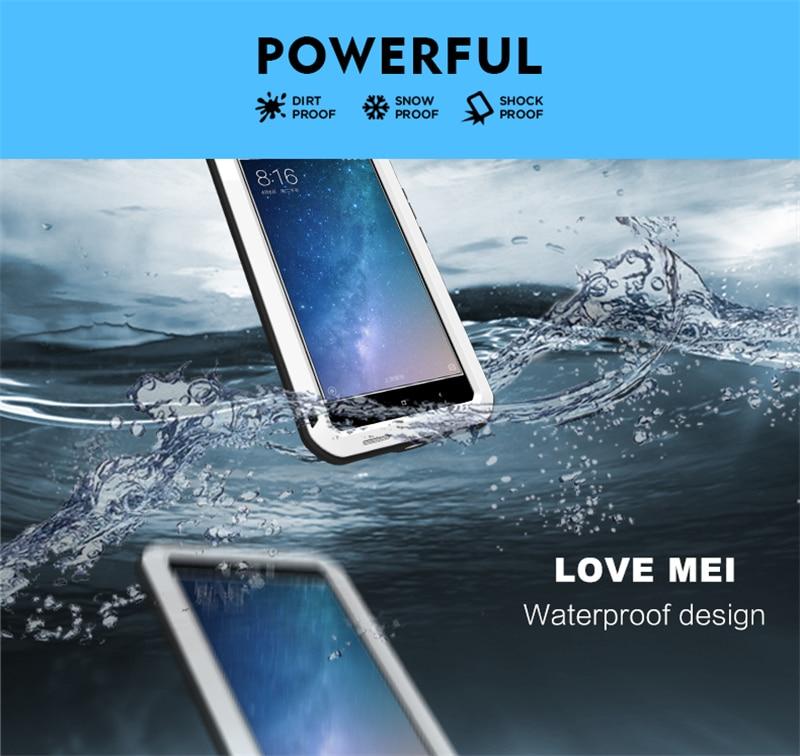 LOVE MEI Aluminum Metal Case For Xiaomi Mi Max 2 (4)