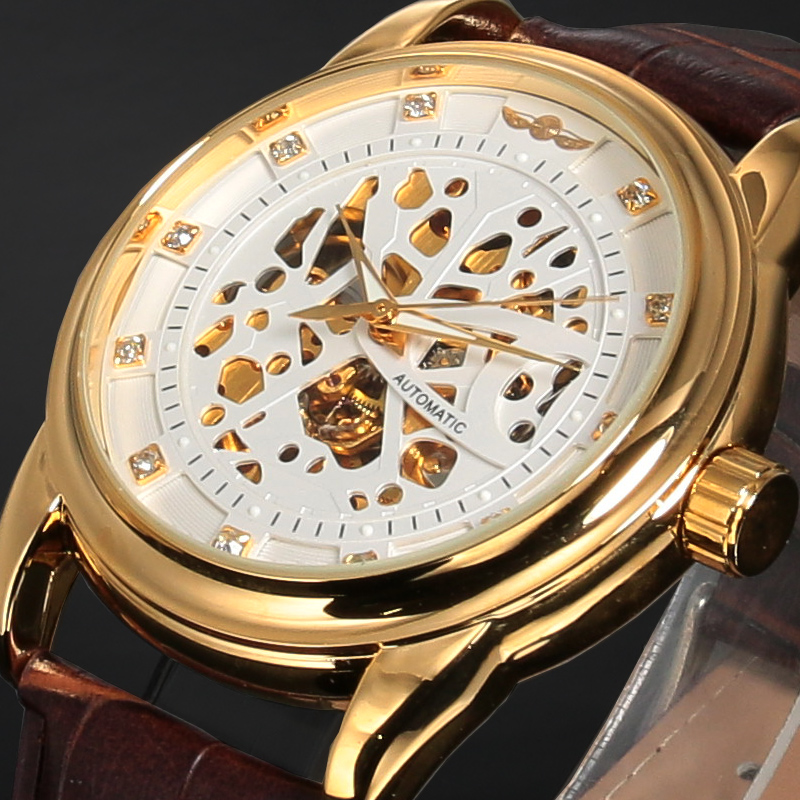Долго winner skeleton automatic watch price дымка для тела